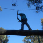 Consumer on High Ropes Course